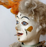 Antique Guitar playing Clown musical automaton, by Leopold Lambert