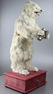 Antique drinking polar bear musical automaton, by Roullet & Decamps
