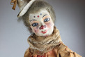 Antique clown acrobat-on-ladder musical automaton, by Roullet & Decamps