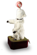 An extremely rare antique performing polar bear musical automaton, by Roullet & Decamps