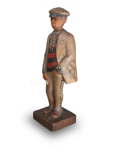 Whistling Figure automaton of a man, by Karl Griesbaum